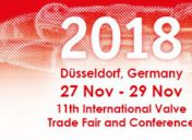 Valve World 2018 | 27 – 29 November | Dussseldorf