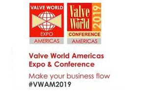 Valve World Americas Expo & Conferenze | June 19 – 20 2019