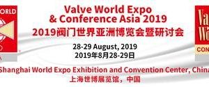 Valve World Expo & Conference Asia 2019